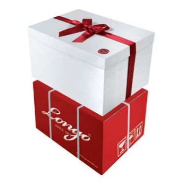 MAGICA EXTRALARGE - Embossed Box with Satin Ribbon